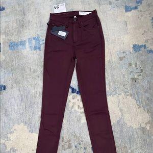 Nordstrom rag and bone ankle skinny jeans sz 27